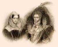 Mary Stuart, Elizabeth I