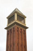 Venetian tower at Espanya square