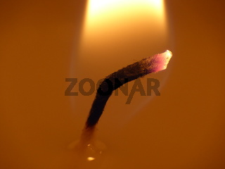 Kerzenlicht - Feuer und Flamme
