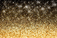 Holiday abstract glitter background with blinking lights
