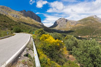 Andalusia, pass, landscape, Spain, Malaga, Vinuela, highway, mountains