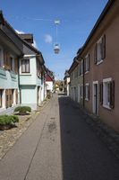Row houses in the historic town of Staufen