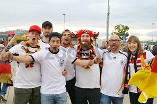 Public Viewing Freiburg  - Fussball EM 2016