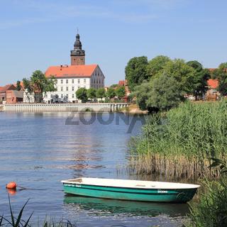 Stadtinsel mit Laurentiuskirche in Havelberg