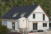 Building Site of a house Building Site of a house