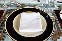 Neat dining table setting