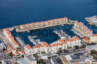 Marina in Gibraltar City