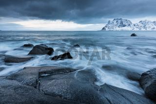 Lofoten Norwegen Utakleiv
