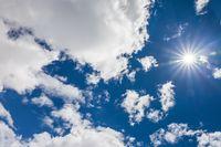 Clear, blue sky