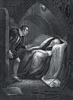 Death of Sir Edmund Mortimer,  Henry VI, Part 1,  history play by William Shakespeare