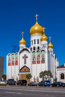 Holy Virgin Cathedral in San Francisco, USA.