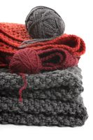 Knits and balls of wool
