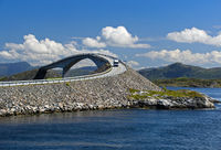 Storseisundet Bridge, Atlantic Road, Norway