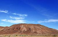 landscape in the region Brandberg, Namibia