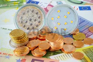 Stromkosten mit LED Lampen einsparen