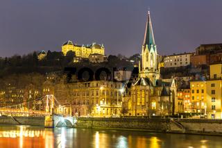 Lyon Night France