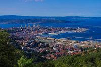 Triest von oben - Trieste aerial view 02