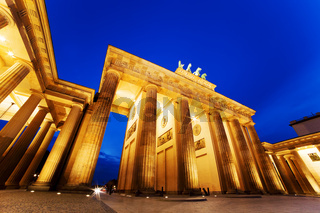 Brandenburg Gate. German Brandenburger Tor in Berlin