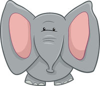 elephant character cartoon