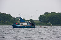 Trawler on the Baltic Sea