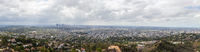 Panoramic view of Los Angeles, California