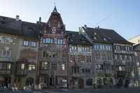 Historic Town Houses in the old town of Stein am Rhein