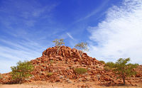 landscape at Damaraland, Namibia