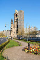 Kaiser Wilhelm Memorial Church in Berlin, Germany