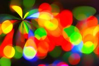 Color spotlight background