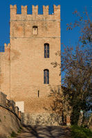 Tower of the Abbazia di Monteveglio