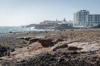 Rocky coast of Tenerife. Canary Islands. Spain