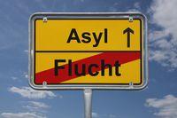 Ende der Flucht, Beginn Asyl | End of escape, start Asylum