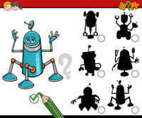 shadows task with robots