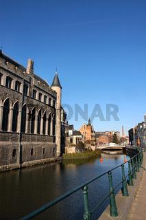 Schloss Geraard de Duivelsteen in Gent