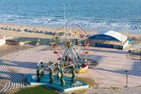 Ferris wheel on the beach