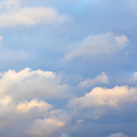 Autumn sky with clouds