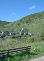 Wine Village of Bremm,Mosel Valley,Rhineland-Palatinate,Germany