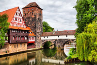 Maxbrucke bridge in Nuremberg