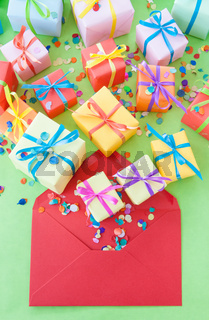 Kleine bunte Geschenke