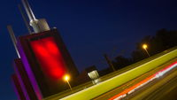 Hanover - Heating Power Plant in Linden at night