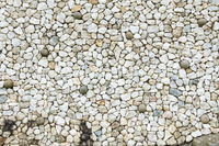 white rough stones
