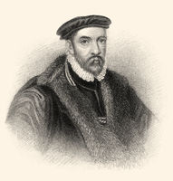 Sir Nicholas Bacon, 1510-1579, an English politician during the reign of Queen Elizabeth I of England