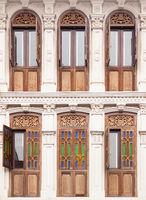 Beautiful old Chinese windows