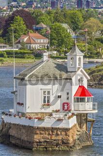 Former Lighthouse Dyna Fyr Oslo Norway