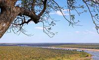 landscape at Olifants at Kruger National Park, South Africa