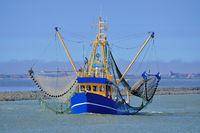 Crab Fishing Trawler,Greetsiel,East Frisia,North Sea,Germany