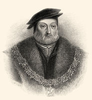 Charles Brandon, 1st Duke of Suffolk, 1st Viscount Lisle, KG, c. 1484-1545, husband of Mary Tudor,  brother-in-law to Henry VIII.