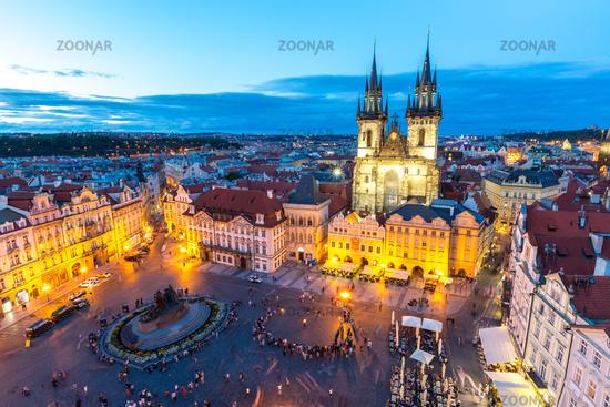 Old Town Square Prague, Czech republic