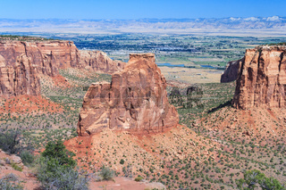 Monument Canyon at Colorado National Monument near Grand Junction Colorado USA