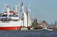 Einlaufparade  2016  Hafengeburtstag